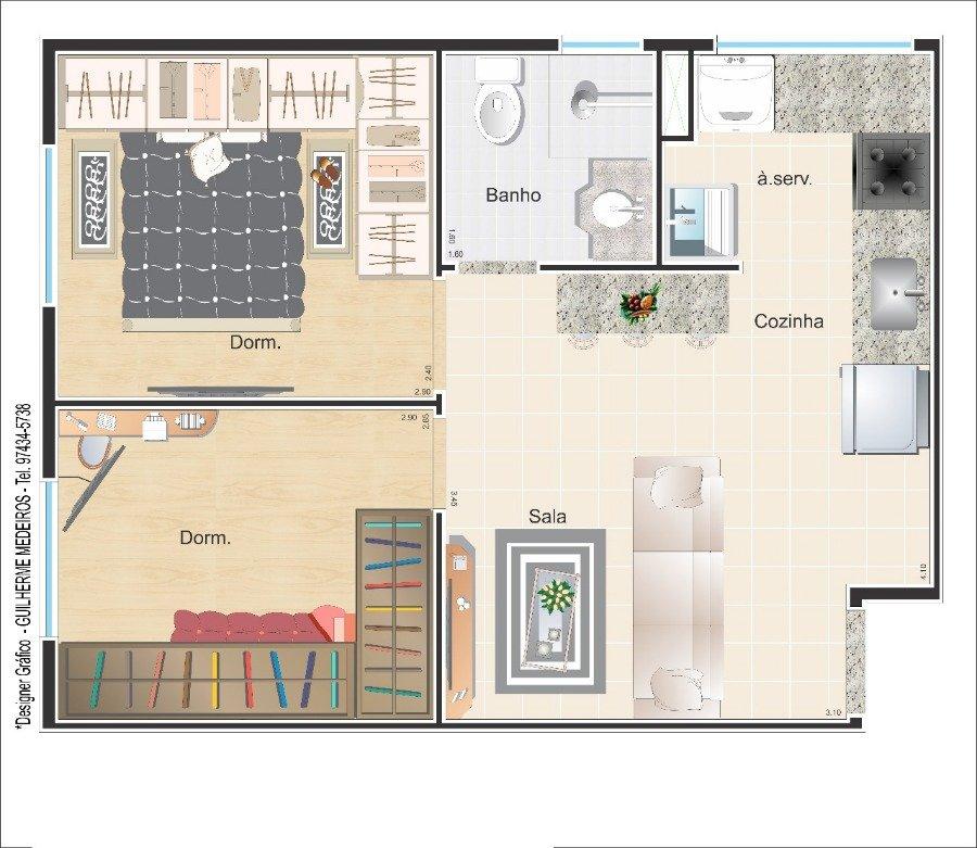 Apartamento para Venda por R$189.000,00 - Cidade patriarca, São paulo / SP