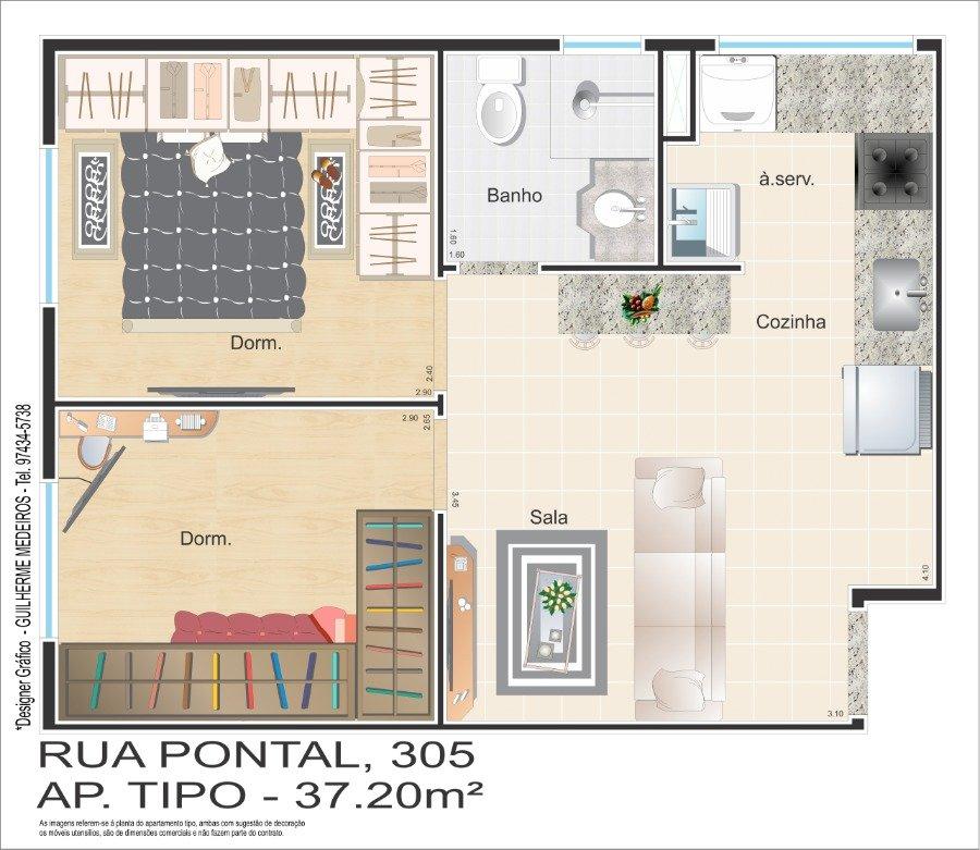 Apartamento para Venda por R$190.000,00 - Cidade patriarca, São paulo / SP